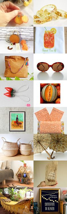 In the heat of July by mariliartbymaria on Etsy--Pinned+with+TreasuryPin.com