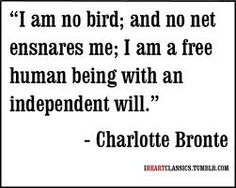 Charlotte Bronte quote - Jane Eyre