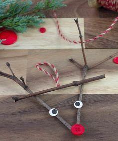 Zum weihnachtlichen Basteln Naturmaterialien verwenden und recyceln