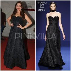 Yay or Nay : Madhuri Dixit in Manish Malhotra and Andrew Gn | PINKVILLA