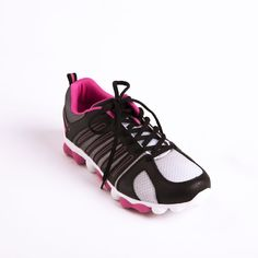 """HeartSoul """"Twisted Love"""" Athletic Shoe in Black. 