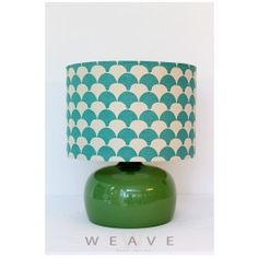 Stylish Home Decor for any place! Stylish Home Decor, Glass Table, Light Colors, Weaving, Table Lamp, Bird, Lighting, Green, Design