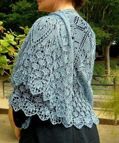 Gratitude, a shawl   Craftsy Echarpe, Tricot, Châles Tricotés, Châle En  Crochet e9f1e992531