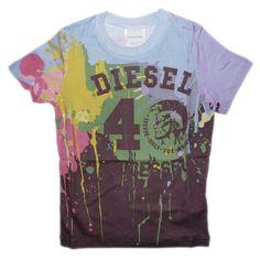 Diesel Tofit slim tee shirt - TrendyBrandyKids - European trendy clothes for boys and girls. Catimini, Desigual, Deux par Deux, Diesel, Halabaloo, Ikks, Jean Bourget, Marese, Me Too, Mim Pi, Pom Pom Casual.