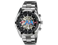 Relógio Masculino Sport Inox com design lindo e impressionante modelo mecânico automático em aço inoxidável design simples Vem com banda de aço inoxidável Exclusividade para Todo homem bem sucedido de negócios que adora relógios este modelo é uma excelente combinação de qualidade e design. Produto Importado.