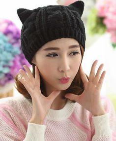 Winter-Beanies-Women-s-Cap-Cat-Ear-Knitted-Hats-for-Women-Female-Folding-Chunky-Baggy-Warm (1)