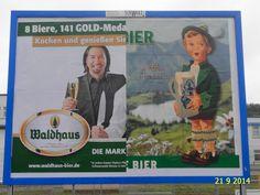 392. - Plakat in Stockach. / 21.09.2014./