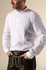 Gössl Online-Shop - Pfoad aus Leinen - Hemden & Shirts - Männer