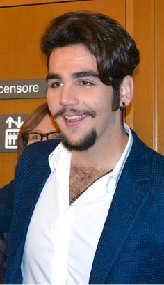 Ignazio Boschetto of Il Volo winner of the prestigious SanRemo 2015 award