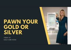 Kiosk, User Experience, Cube, Silver, Gold, Yellow, Money