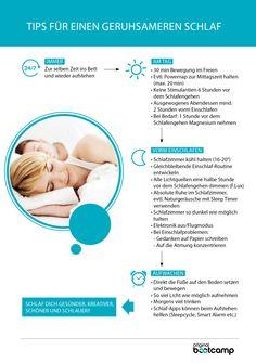Infografik: Schlank im Schlaf .