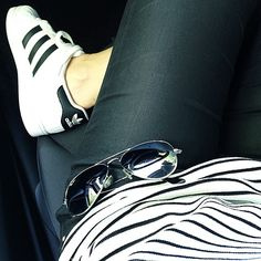 Outfit  #adidas #superstar #adidassuperstar #shoes #shoesaddict #raybanaddict #fashionaddict #fashion #zara #zaraaddict  #basket #sneakers #sneakersaddict #igsneakers #rayban #adidasaddict #white #blackandwhite #whiteaddicted #style #ss15 #summer15 #inspo #inpiration #outfit #ootd #potd #iotd #outfitoftheday #val_let