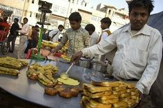 #DelhiStreetFood : What's Cooking any Guesses??