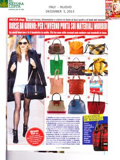 Happy to have @El Naturalista bag  NA 49 on Nuovo Magazine from Italy.