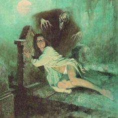 Eerie #36 (1966). Cover art by Enric Torres-Prat.
