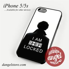 I am Sherlock 2 Phone case for iPhone 4/4s/5/5c/5s/6/6s/6 plus