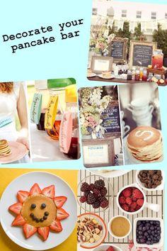 More pancake and pajama party ideas