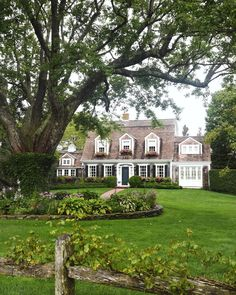 """stacie kristine flinner on Instagram: """"Anticipating an all American summer this year. How about you?"""" Colonial House Exteriors, Dream House Exterior, Exterior Houses, Southern House Plans, Cute House, Home Landscaping, Elegant Homes, Patio, Historic Homes"""