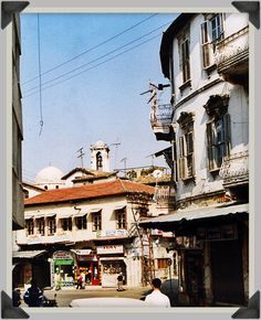 Antioch, Turkey. An old building with French influence in architecture.