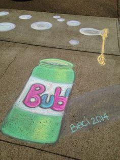Bürgersteigskreide Blasen   - Beschäftigung - #Beschäftigung #Blasen #Bürgersteigskreide Chalk Drawings, Art Drawings, Street Art Graffiti, Graffiti Artists, Chalk Design, Sidewalk Chalk Art, Creta, Chalk It Up, Graffiti Lettering