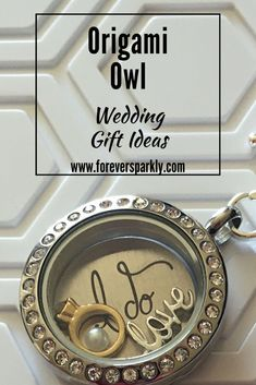 A gift of Origami Owl jewelry is the perfect way to celebrate a bride and her special day. Click through to find other gift ideas from Origami Owl!