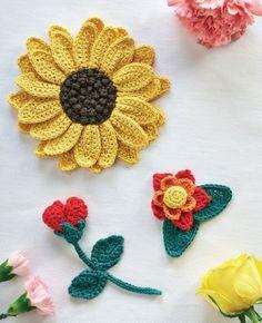 Crochet Flowers (fre
