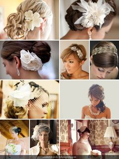 veils and fascinators