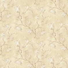 The Wallpaper Company 56 sq. Beige Soft Floral Trail Wallpaper - The Home Depot Beige Wallpaper, Classic Wallpaper, Wallpaper Companies, Wallpaper Samples, Renovation Hardware, Prepasted Wallpaper, Mountain Wallpaper, Contemporary Wallpaper, Modern Wall Decor