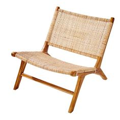 This product is made of reclaimed wood, giving a second life to raw materials! With the TICAO woven rattan armchair, your home will take on an on-trend exotic vibe. The recycled teak structure shows off the hand woven rattan exterior. Teen Furniture, Hallway Furniture, Small Furniture, Outdoor Furniture, Wicker Armchair, Rattan Chairs, Wood Chairs, Bar Chairs, Lounge Chairs