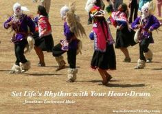 Set life's rhythm with your heart drum