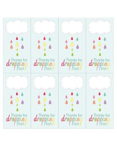 Baby shower favor tag printables shower favors free printable april showers favor tag printable negle Image collections