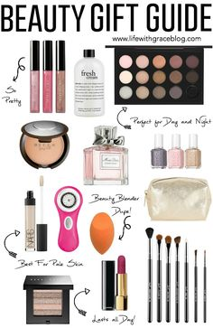 Gift Guide For The Beauty Lover #beauty #giftguide #christmaslist || www.lifewithgraceblog.com