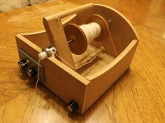 Electric Spinning Wheel by Russell Barber — Kickstarter