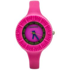 Converse Skinny Silicone Strap Watch (For Women))