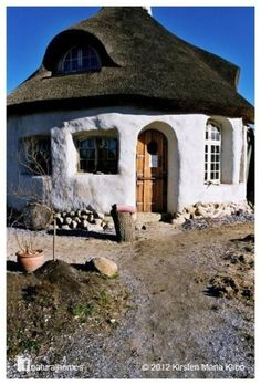 tiny cob house - if we had the space, a small backyard house would be so awesome for guest or privacy space.
