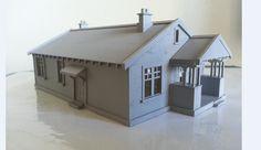 1:120TT 3D Printed House