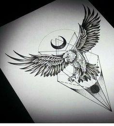 My Most Favorite Geometric Tattoo Tattoos 3d, Tribal Sleeve Tattoos, Eagle Tattoos, Wolf Tattoos, Animal Tattoos, Body Art Tattoos, Celtic Tattoos, Tatoos, Sketch Tattoo Design