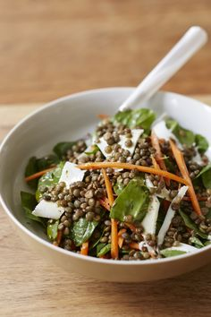 Lentil and Carrot Salad by Giada De Laurentiis | GiadaWeekly.com