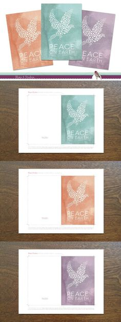 holiday note cards templates