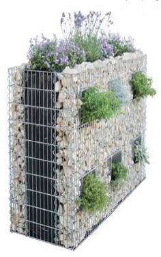 gabion talus pinterest talus le jardin et jardins. Black Bedroom Furniture Sets. Home Design Ideas