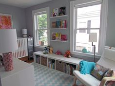 Girl's nursery, but not too girly