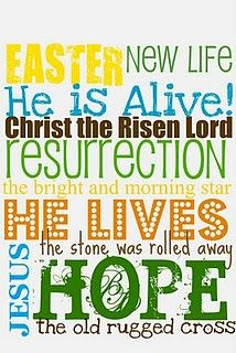 He is risen! Acts 2:36 Let us know for certain that God has made Him both Lord and Christ - this Jesus whom we have crucified!