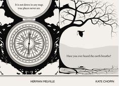 Herman Melville, Kate Chopin