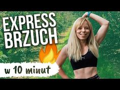 EXPRESS BRZUCH - szybki trening na brzuch w domu | Codziennie Fit - YouTube Bra, Sports, Youtube, Diet, Hs Sports, Bra Tops, Sport, Youtubers, Youtube Movies