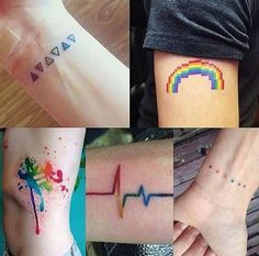Found this and thought it was cute + wanna get one of these tattoos when im older