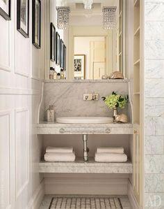 Трехкомнатная квартира в Москве, 75 м² #bathroomstyle