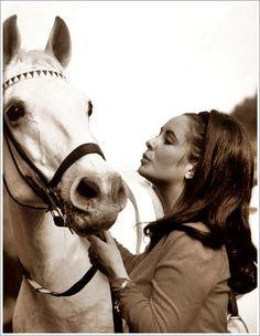 Elizabeth Taylor #horse