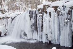 Oirase Tyoshi Waterfall - Aomori, Japan 奥入瀬渓流 銚子大滝
