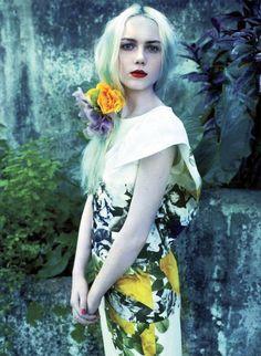 Emily Ruhl by Leda & St. Jacques for Elle Canada June 2012