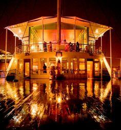 The Royal Yacht Britannia deck - Edinburgh #ScotlandHour